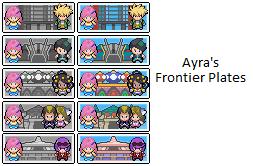 Ayra's Pt Battle Plates by Ayrafeneres