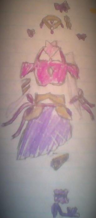 Ribbons Dress by Ayrafeneres