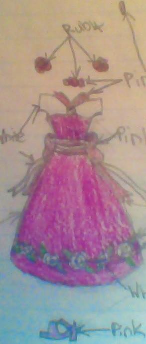 Rose Dress by Ayrafeneres