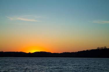 Sunset on Lake Menomin