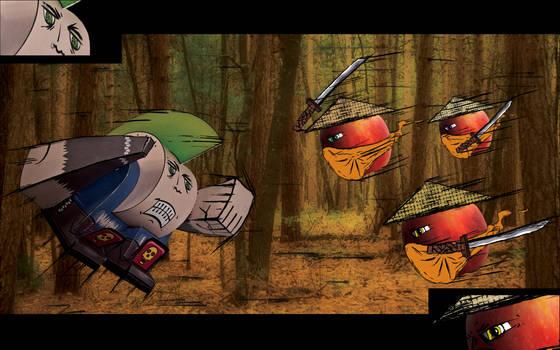 Boingo VS Ninja Apples!