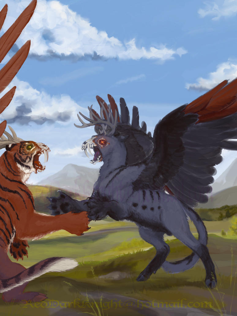 Confrontation by KreepingSpawn