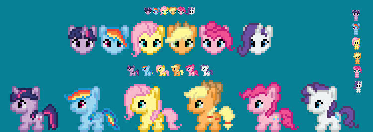 IttyBitty Little Wittle Ponies