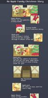 An Apple Family Christmas Story -COMIC-
