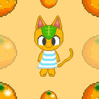 Day 4 - Tangy (Tiled BG) by Blue-Cup
