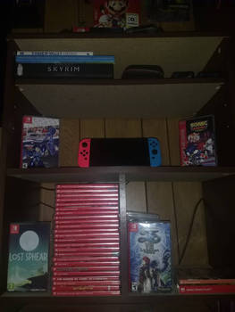 Nintendo Switch Collection [as of 7/19/18]