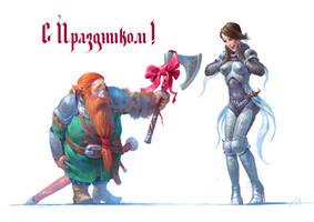 Congratulations! by mokhman