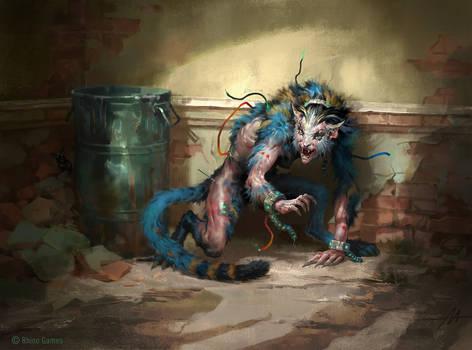 Mythgard. Cornered Wildcat