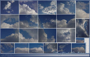 Sky and Clouds Tiles V1 by makrivag