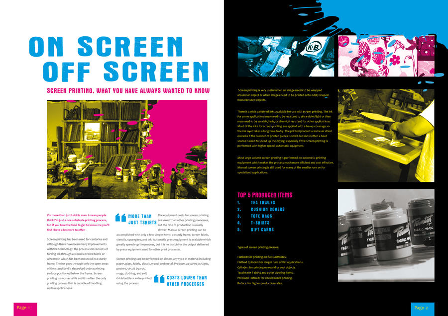 Printint Two Page Spread by BarcodeIII