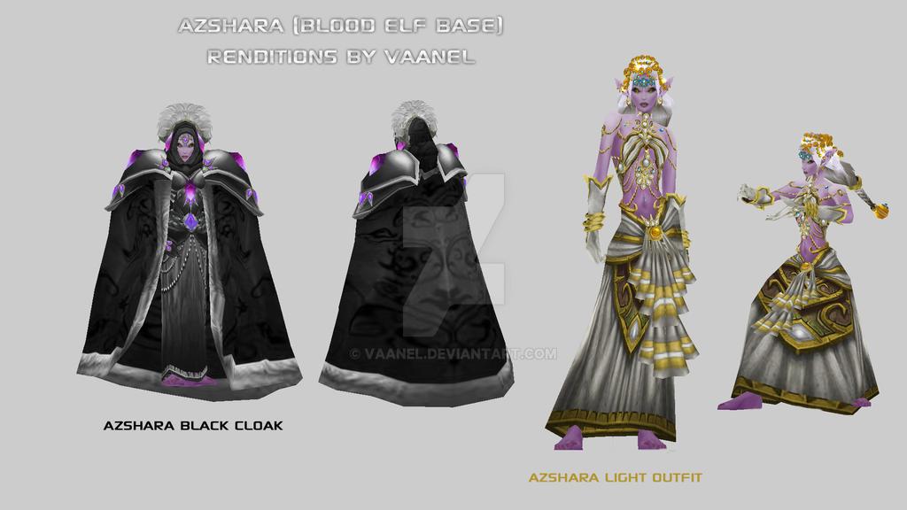 Queen Azshara Beta Designs By Vaanel By Vaanel On Deviantart