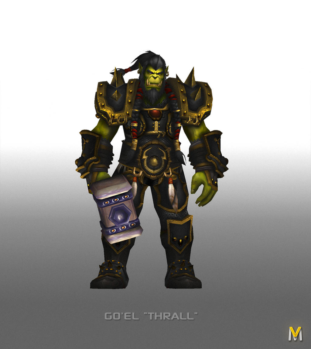 Warchief Thrall by Vaanel