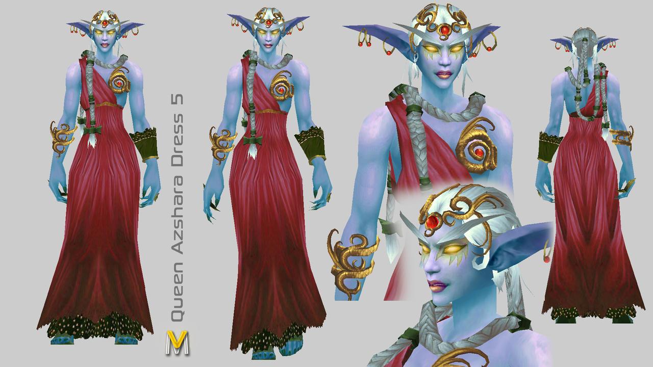 Queen Azshara 5 by Vaanel