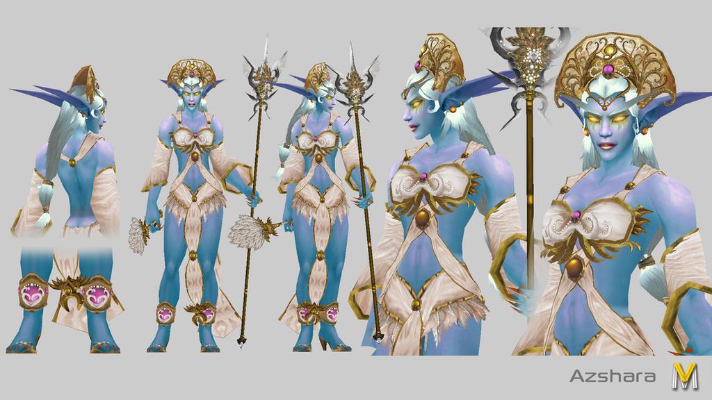 Whos Prettier Azshara Or Tyrande Night Elf Look Really Good In The