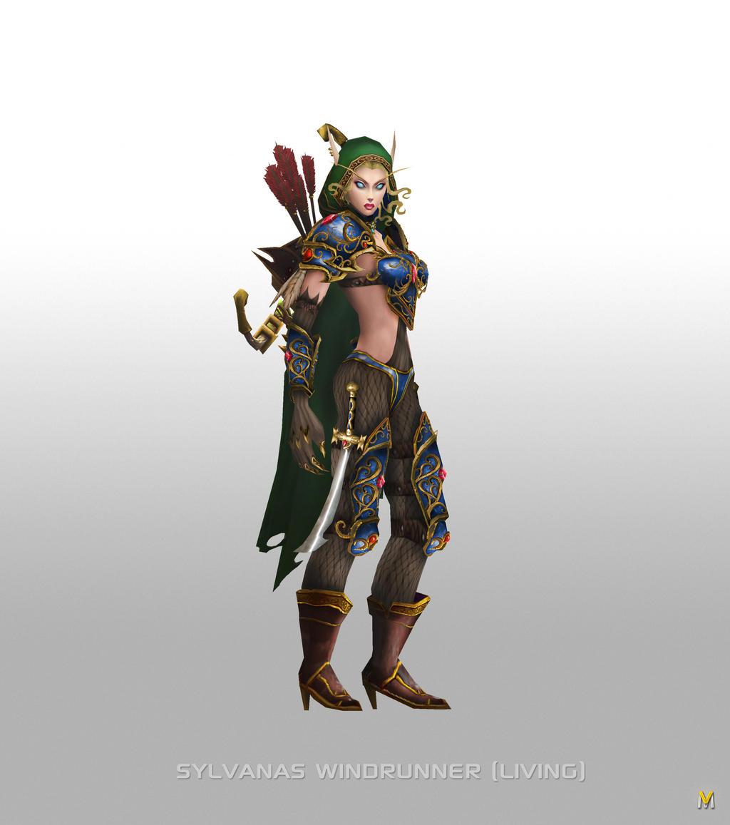High Elf Sylvanas Windrunner by Vaanel