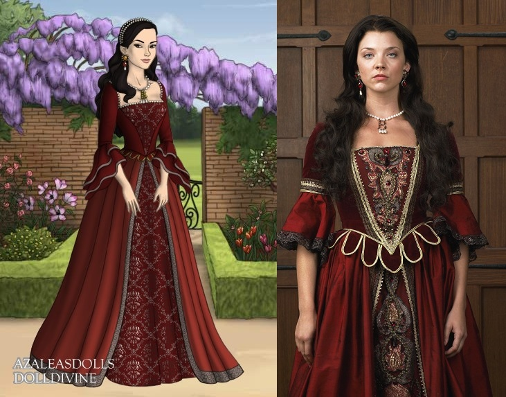 Anne's dark red dress by LadyAquanine73551