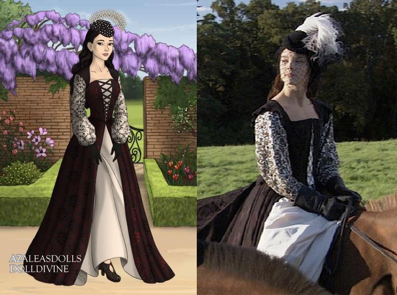Anne\'s dark riding dress by LadyAquanine73551 on DeviantArt