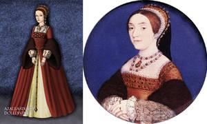 Catherine Howard's miniature portrait