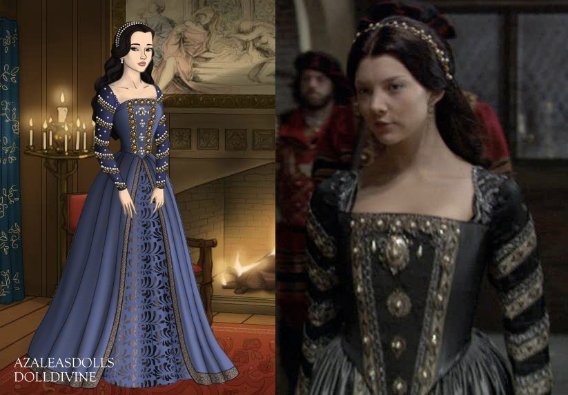 Anne Boleyn as a Lady-in-Waiting by LadyAquanine73551