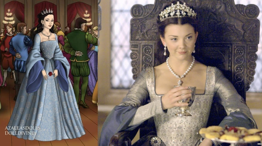 Anne's perfect Tudor gown by LadyAquanine73551