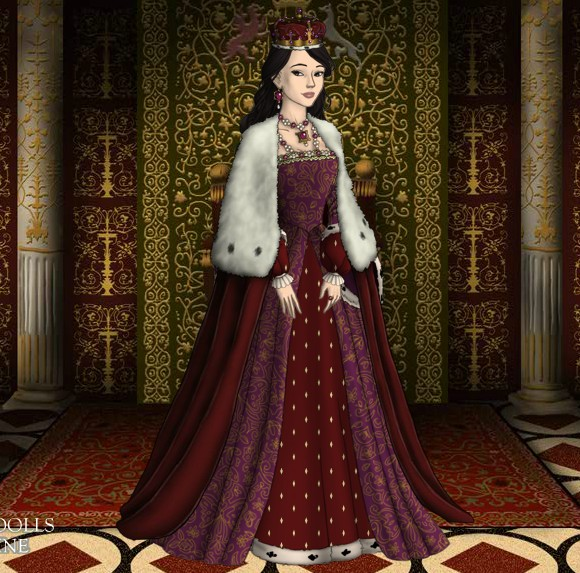 Anne Boleyn S Actual Coronation Robes By Ladyaquanine73551