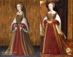 Jane Seymour+Tudor Dynasty Portrait