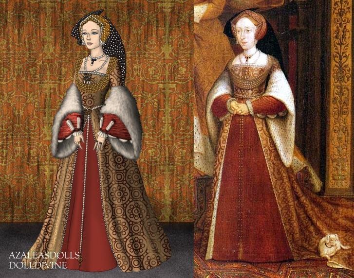 Jane Seymour+Tudor Dynasty Portrait by LadyAquanine73551