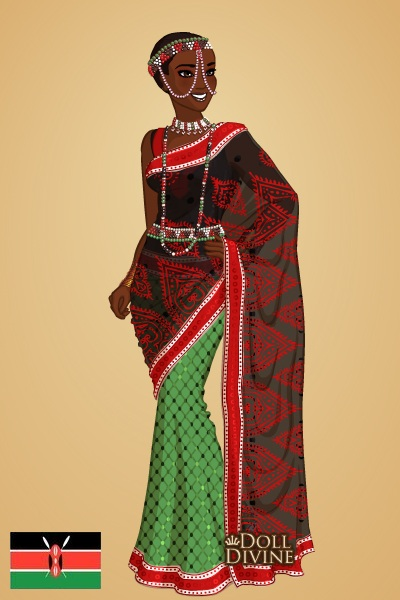 Kenya Flag Dress Designs