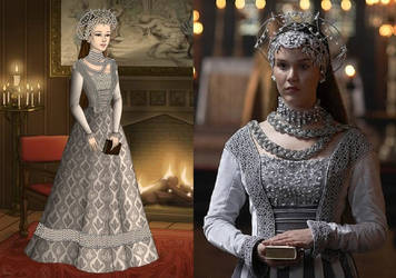 Anne of Cleves' Silver Wedding Gown Ver. 1