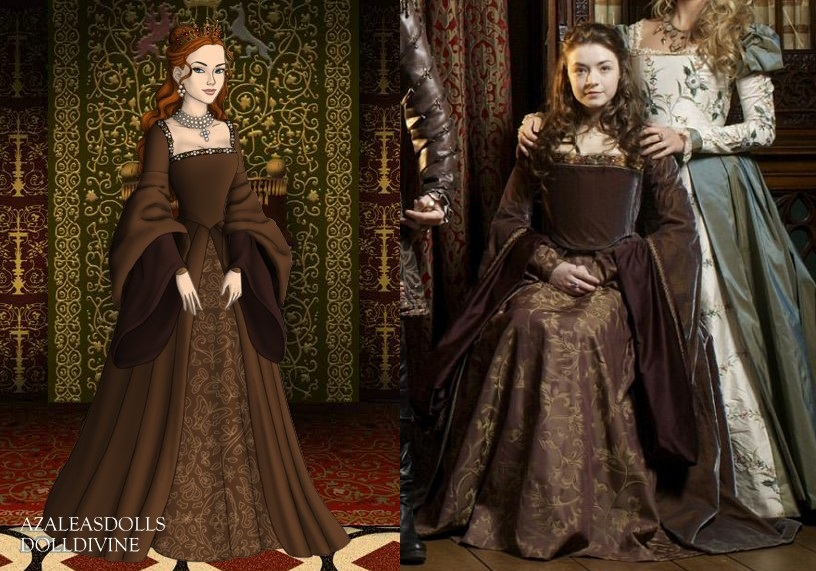Princess Mary\'s Brown Tudor dress by LadyAquanine73551 on DeviantArt