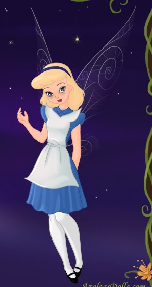 Tink as Alice in Wonderland by LadyAquanine73551