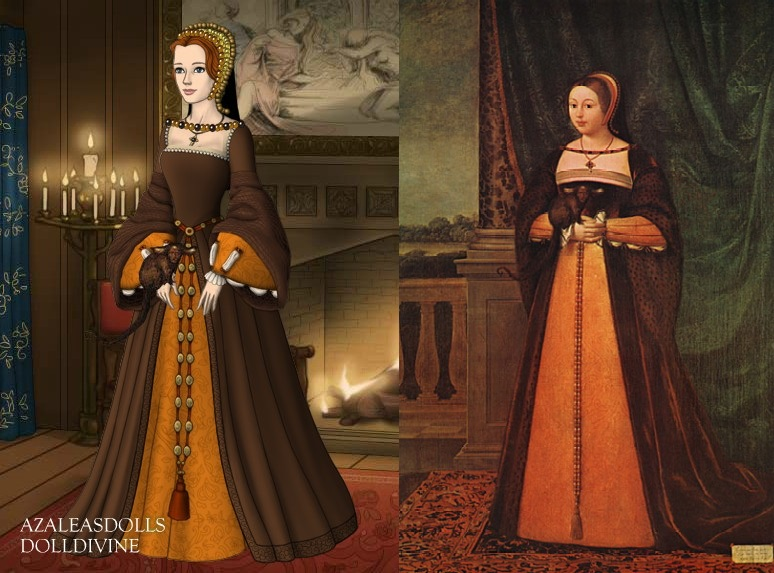Margaret Tudor, Queen of Scotland by LadyAquanine73551
