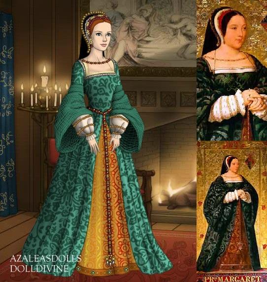 Queen Margaret of Scotland (1489-1541) by LadyAquanine73551