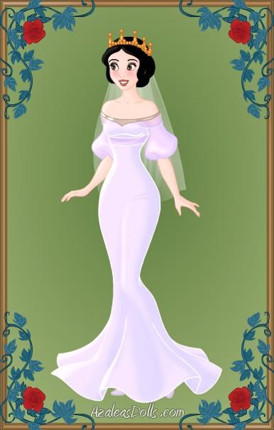 Disneys Snow White Conceptual Wedding Dress By LadyAquanine73551 On DeviantArt