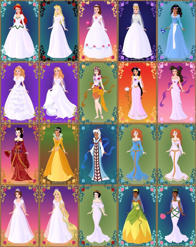 Disney Brides by LadyAquanine73551
