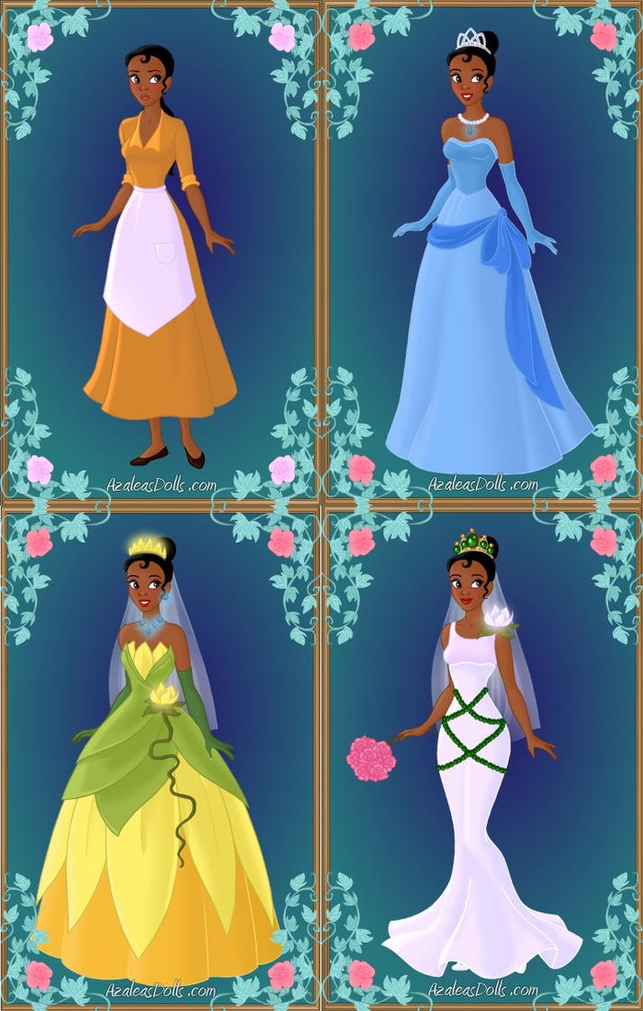 Princess Tiana\'s Wardrobe by LadyAquanine73551 on DeviantArt