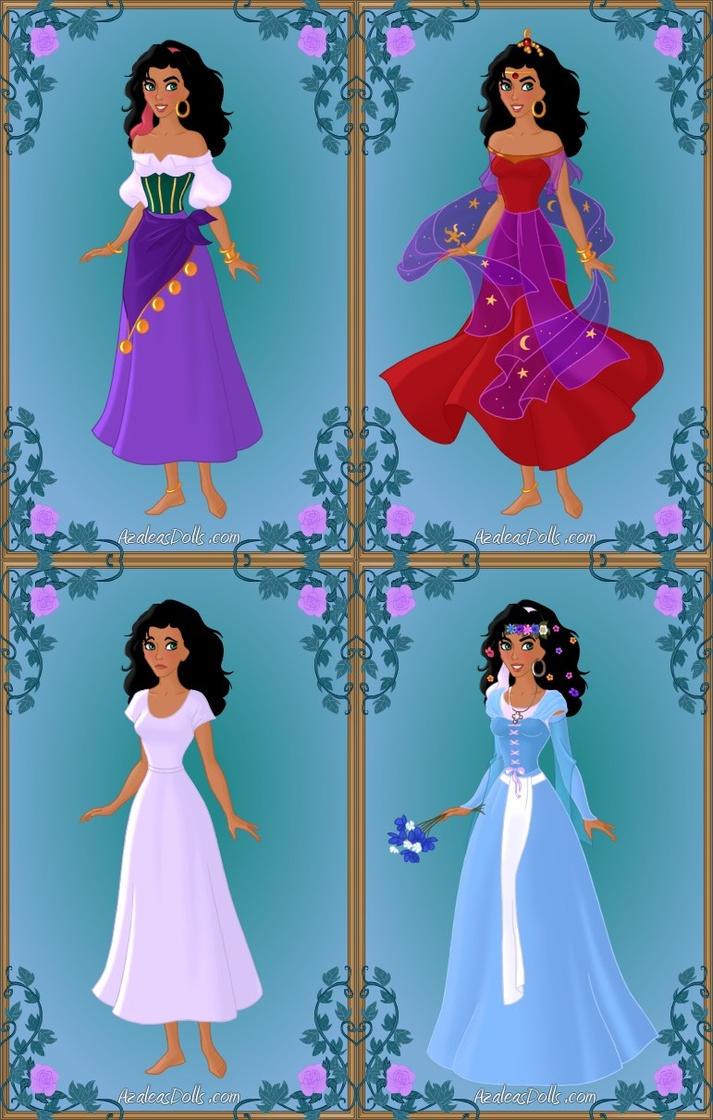 Esmeralda S Wardrobe By Ladyaquanine73551 On Deviantart