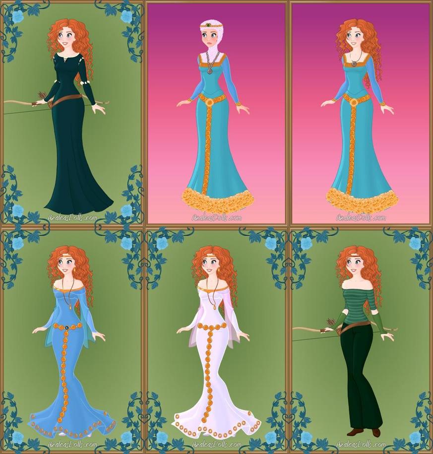 Princess Merida by LadyAquanine73551