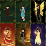 Katniss as a Fairy