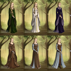 Eowyn's Wardrobe in The Two Towers