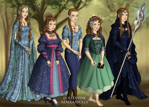 Me as all the races of Middle Earth