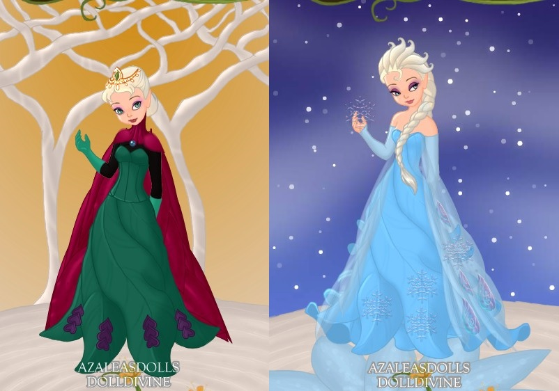Queen Elsa as a Pixie by LadyAquanine73551