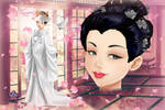 Japanese Bride from Wedding Lily
