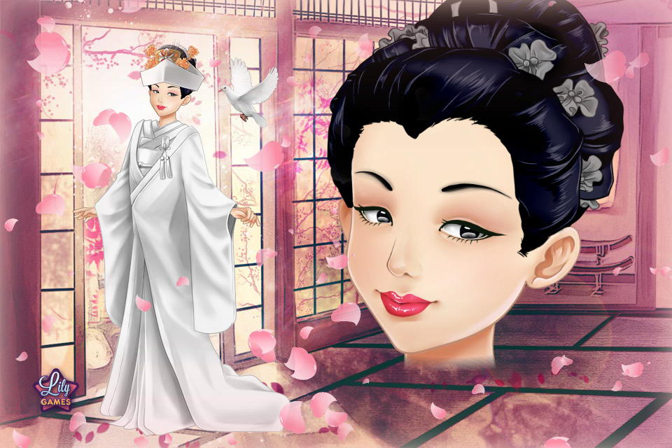 Lily dress up games wedding