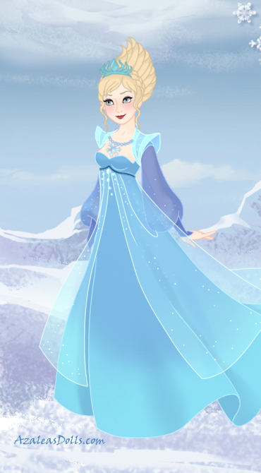Elsa the Snow Queen+Concept Art Version by ...