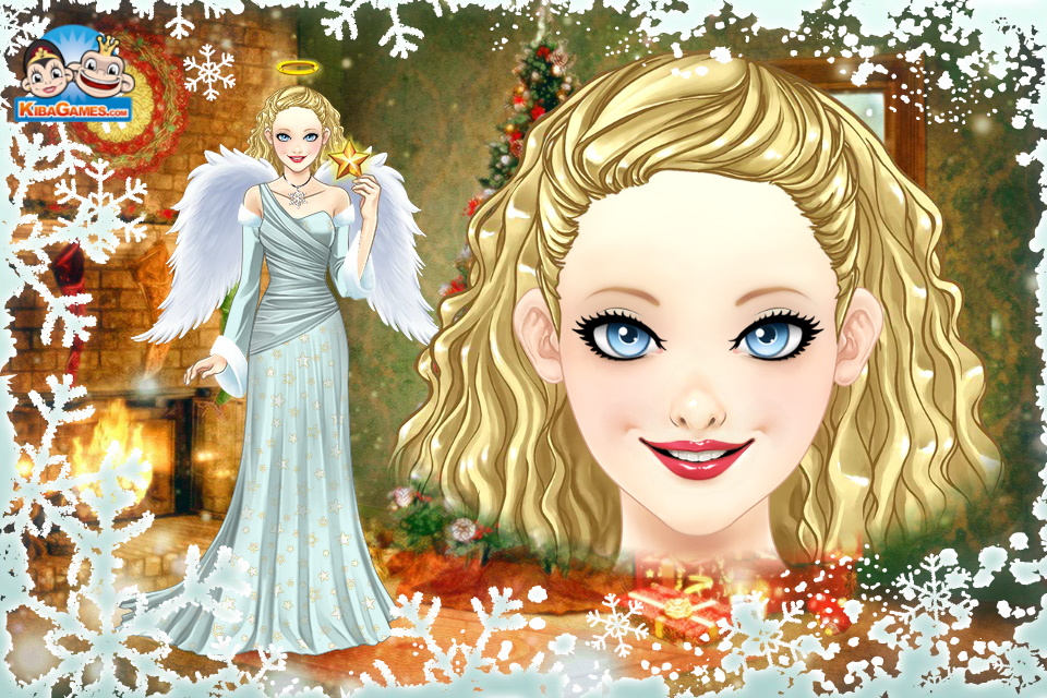 Christmas Angel by LadyAquanine73551 on DeviantArt