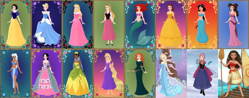 all frozen dress up games