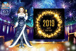 Happy 2019! by LadyAquanine73551