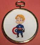 Captain Kawaii Cross Stitch