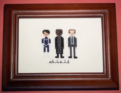 Agents of S.H.I.E.L.D. Cross Stitch by chujo-hime